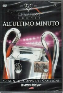 DVD=CHAMPIONS OF EUROPE=ALL'ULTIMO MINUTO=1981-1986=VOL. N°5=LIVERPOOL-JUVENTUS