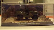1/43ième - James Bond - Willys Jeep M606 - Octopussy