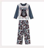 Star Wars Darth Vader Fleece Pajamas Pjs Shirt / Pant Set Boys Clothes Size 4 4t