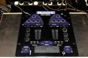 OEM Numark DM1002X Scratch Mixer Faceplate Used