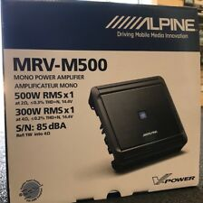 ALPINE 500WATT BASS AMP BRAND NEW! MRVM500