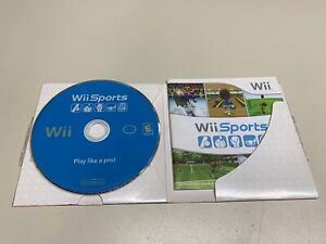 Wii Sports (Nintendo Wii, 2006) *COMPLETE & FULLY FUNCTIONAL*
