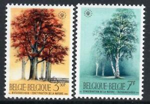 BELGIUM MNH 1970 SG2146/47 Nature Conservation Year