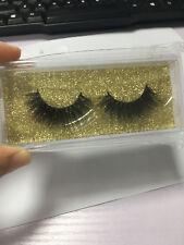 Top Messy 3D False Eyelashes Classic Luxurious 100% Siberian Mink Fur Eye Lashes