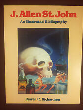 J. Allen St. John an Illustrated Bibliography Darrell Richardson SC 1991 1st