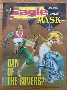 Eagle and Mask 7/1/89 Dan Dare, Doomlord, Computer Warrior, IPC UK comic