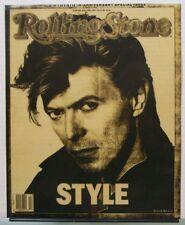David Bowie - Rolling Stone Magazine - Original Print Slick Positive
