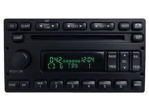 FORD Truck E150 E250 F250 F350 6 Disc CD Player Radio AUX SAT 98 99 01 02 03 04