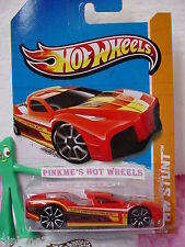 Case A 2012 i #13 Hot Wheels HYPERTRUCK∞RED∞2013 HW STUNT∞