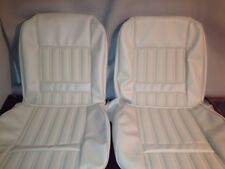 Ford Xy Gt +fairmont Seat Covers,genuine Off White,full Set,Australian Made