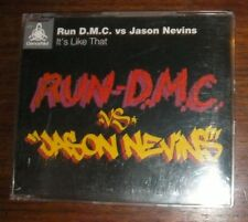 "RUN-D.M.C vs JASON NEVINS ""It's Like That"" CD 1997 dance electronic 1990s single"