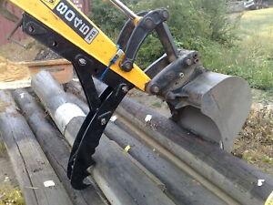 360 digger, Midi 5 thumb grab, grapple for excavators 4-6.8T inc vat