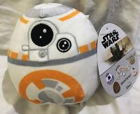 """New  Squishmallow Disney Star Wars Plush 5"""" Mini BB-8"""