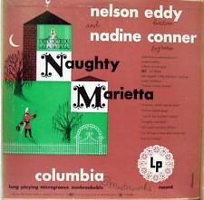 NELSON EDDY NADINE CONNER naughty marietta LP VG ML 2094 Vinyl 1950 Record