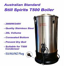 Still Spirits 25L High Qality Stainless Steel Turbo500 Boiler 2000W Homebrew