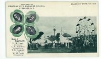 Central City Business School Ferris Wheel State Fair SYRACUSE NY 1906 Postcard
