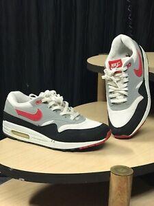 Nike Air Max 1 Chili White Varsity Red Grey Size 8.5 2003' 306345 - 161