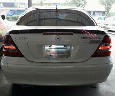 Carbon Fiber MERCEDES BENZ 01-07 W203 C class Sedan AMG type trunk spoiler @US