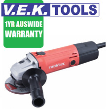 "MAKTEC BY MAKITA 125MM 5"" ANGLE GRINDER WITH CASE-1YR NATIONWIDE WARRANTY"