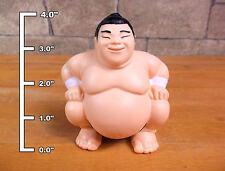 "New 4.0"" SUMO WRESTLER STRESS BALL toy Christmas stocking stuffer RELIEVER gift"
