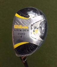 LH - Wilson Golf Prostaff DCG 4 Hybrid - Men's Regular Flex Graphite Shaft