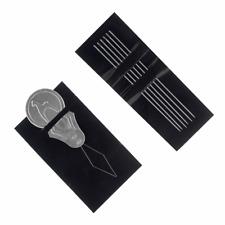 Agujas De Hierro Abalorios Plata 0.7 X 58mm 20 PC resultados fabricación de joyas Artesanías