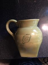 Tastefully Simple Host Collection Green LEAF Pitcher NEW
