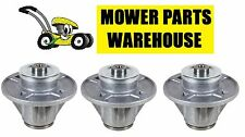 (3) LAWN MOWER DECK BLADE SPINDLE ARIENS GRAVELY 51510000 61527600 61543800 ZOOM