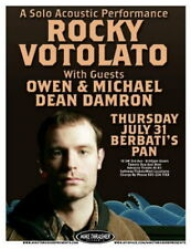 Rocky Votolato 2008 Gig Poster Portland Oregon Concert