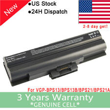Battery For Sony VAIO PCG-5T3L PCG-61112L PCG-61411L PCG-3H3L PCG-3H4L 6 Cells F