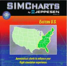 SIMCharts 1.0 Eastern U.S - by Jeppesen 1999 - for Flight Simulator 2000 - TOP