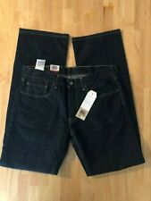 Levis 559 Relaxed Straight Fit 32x34 Mens Jeans Size 32 x 34 Dark Blue NWT