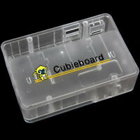 Transparent Enclosure case for Cubieboard Allwinner A20 Cubieboard2 Cubieboard1