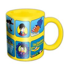 Official The Beatles Yellow Submarine Characters Coffee Mug - Retro Boxed