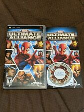 Marvel Ultimate Alliance Complete in Case Sony PSP PlayStation Portable