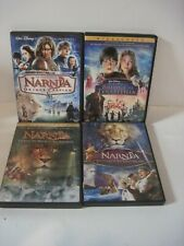 Walt Disney The Chronicles of Narnia Complete Set of 4 Dvds