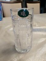 RALPH LAUREN Glen Plaid Crystal HIGHBALL Glass (Germany) Replacement Single