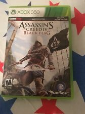 Xbox 360 Game Assassins Creed IV Black Flag With Case