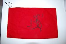 New Authentic Christian Louboutin Red Dust Bag