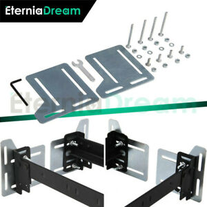 2 Set Bed Frame Brackets Adapter Fit For Headboard Extra Heavy Duty