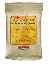 A.C. Legg INC Hot Italian Sausage Seasoning, 8 ounce