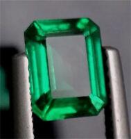 11.78ct Natural Mined Green Emerald Colombia Emerald Cut AAAA+ Loose Gemstone