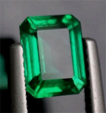 12.665ct Natural Mined Green Emerald Colombia Emerald Cut AAA Loose Gemstone