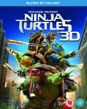 Tmnt Teenage Mutant Ninja Turtles 2D/3D Neu Blu-Ray (BSP2624)