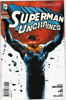 Superman Unchained (2013 DC) #7 Variant NM- 1:25