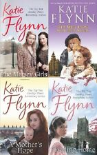 KATIE FLYNN  __ 4 BOOK SET __ MERSEY GIRLS THE GIRL FROM SEAFORTH SANDS __ NEW