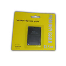 Ps2 Memory Card 128 Mb Mega Bytes - Brand New for Sony Playstation 2 Save Card