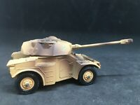 le rouleau de treuil en METAL BRUT pour camion berliet T12 militaire SOLIDO