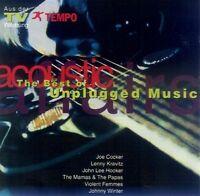 Acoustic Affairs-The Best of Unplugged (1993) Joe Cocker, Lenny Kravitz, .. [CD]