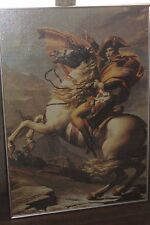 NAPOLEON Bonaparte Completed Puzzle w/ Metal Frame 28x39.75